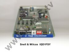 Snell & Wilcox IQD1FSY - D1 Frame Synchronizer SDI