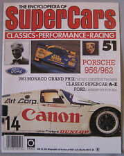 SUPERCARS magazine Issue 51 Featuring Porsche 956/962 cutaway & poster, Ford