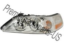 2003 2004 Lincoln Town Car New Headlight Assemblies Left Driver Side