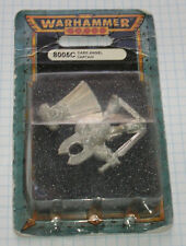 40k Rare oop Blister Vintage Metal Space Marine Dark Angel Captain NIB