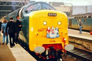 PHOTO  DELTIC CLASS LOCO ON  JUBILEE TOUR