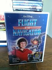 Flight of the Navigator DVD Joey Cramer 1986 Walt Disney Region 1 USA Like New