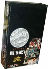 1991-92 NHL Pro Set Platinum Factory Sealed Hockey Cards Series 1 - 36 Pack Box