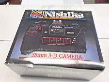 Nishika N8000 35 mm Quadrascopic Stereo 3D Lenticular Camera Quadra Lens 3-D