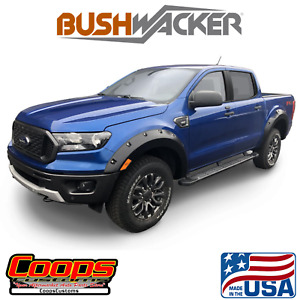 Pocket Style Bushwacker Fender Flares 4pc 2019-2020 Ford Ranger 5 FT Bed