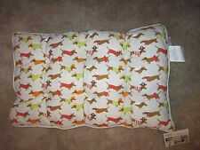 Dachshund Halloween Themed Dog Crate Weiner Dog Pet Cotton Bed  NWT