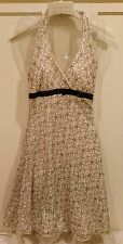 Homecoming/Cocktail Dress white/black lace junior size 7/8 nwt
