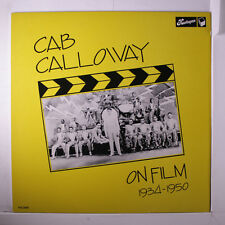 CAB CALLOWAY: On Film LP (UK) Jazz
