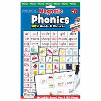 Phonics Magnetic Chart - Magnetic Set - Fun daily educational activitya