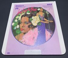 Lady Sings the Blues CED RCA Selectavision VideoDisc - 2 Disc Set Billie Holiday