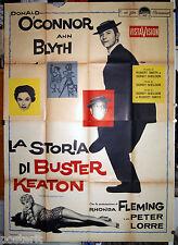 manifesto 4F film THE BUSTER KEATON STORY Donald O'Connor Ann Blyth 1958