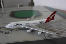 Gemini Jets Qantas Airways Boeing 747-400 Football Color Diecast Model 1:400