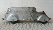 """Great Vintage 1930's MARX Pressed Steel Armored Car Coin Bank Toy - 6.25"""""""