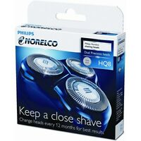 Norelco HQ8 Triple-Head Replacement Heads, Powertouch Spectra Razor Shaver Blade