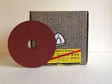 """KLINGSPOR CS 561 ALUMINUM OXIDE 4-1/2"""" FIBRE DISCS SANDING 4-1/2"""" X 7/8"""" 80 GRIT"""
