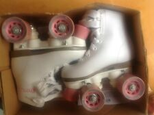 Chicago Girl's Rink Skates size j10 smooth good pageant or learning or team nice