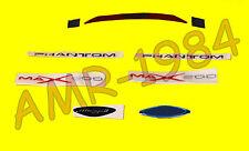 KIT DECALCO ORIGINALI MALAGUTI  F12 MAX 200 CODICE 18138500