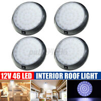 For Caravan Camper Motorhome 4Pcs 12V 46 LED Down Light Cabin Ceiling Roof Lamp