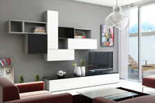 Brin 8 - flat screen tv stand / modern entertainment center / tv wall unit