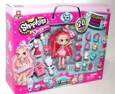 EXCLUSIVE SHOPPIE & SHOPKINS  LUCY SMOOTHIE SUPER SHOPPER PK 20PCS GIRLS