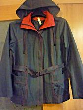 WFST CHAQUETA CHAQUETÓN parka jacket, impermeable  44,46  XL MUJER azul  y rojo