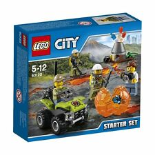 LEGO CITY 60120: IN / OUT VULCANO Set Starter