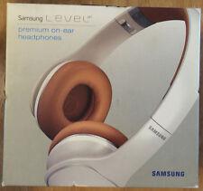 NEW - Samsung - LEVEL ON - On-Ear Headphones - White