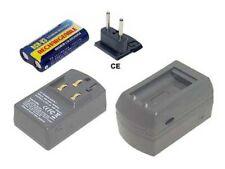 Ladegerät für PENTAX K100D Super,Optio S30,S40,S55,S60,CR-V3,CR-V3P,LB-01,RCR-V3