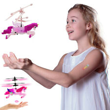 Flying Unicorn Drone Kids Toy - Hand Controlled Infrared Induction RC Gift Toys