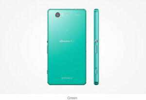 SONY XPERIA Z3 Compact Android 20M Smartphone SO-02G DOCOMO Unlocked Green used