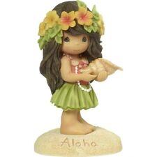 Precious Moments Aloha, Hawaiian Girl Resin Figurine 173445