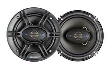"New Blaupunkt 6.5"" 4-Way Car Audio Coaxial Speakers (Pair) 6-1/2 720W Max - New"