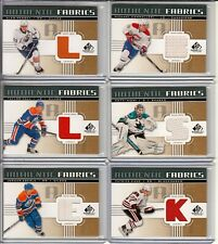2011-12 SP Game Used Authentic Fabrics Gold #AFPK3 Patrick Kane *K*