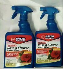 2 Bayer Advanced Rose & Flower Insect Killer 24 Fl Oz Each