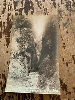 Vintage Oneonta Gorge Columbia River Highway Oregon Real Photo Postcard