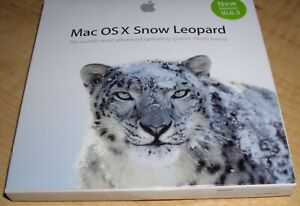 APPLE MAC OS X SNOW LEOPARD OPERATING SYSTEM INSTALL DISC VERSION 10.6.3