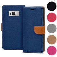 Handy Tasche für Samsung Galaxy Schutzhülle Book Case Flip Cover Wallet Etui
