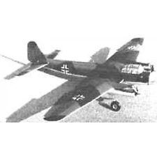 RC-Plano de edificio Junkers Ju 88 modellbau plan de modelismo
