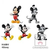New Disney Characters World Collectible figures HISTORY OF MICKEY MOUS 5 set F/S
