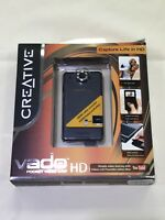 NEW Creative Vado HD 720p Pocket Video Camcorder VF0580 8GB Video Camera 2x Zoom