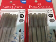 Faber Castell Ball Point Pen Type NX 23 with 0.5mm tip black ink 12 pens set