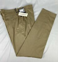 SuitSupply Sand Valencia Washed Trousers Size 38 NWT MSRP $149