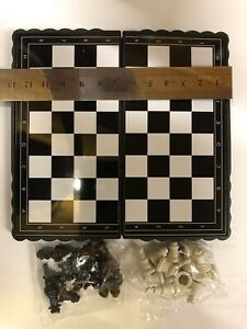 Magnetic folding Pocket chess board portable set with pieces games sport camping