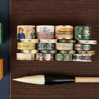 5PCS Decorative Vintage Washi Tape Set Japanese Paper Best Scrapbooking Sti Y7D7