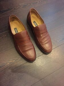 Bally Brown Gents Brown Penny Loafers