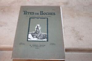 Tetes de Boches, les Allemands peints par eux-memes, Album 1