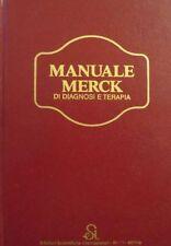 Manuale Merck di diagnosi e terapia. Contiene indice analitico. Comitato editori