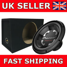"Pioneer Car Sub + Box TS-300S4 12"" 1400W Champion Series Sub Single 4 Ohm Sub"