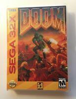 Doom 32X Genesis - CUSTOM CASE