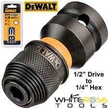 DeWalt Extremo Adaptador de Impacto 1.3cm Conducir A 0.6cm Hex Enchufe